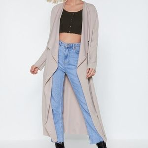 Nasty Gal You Got This Duster Coat